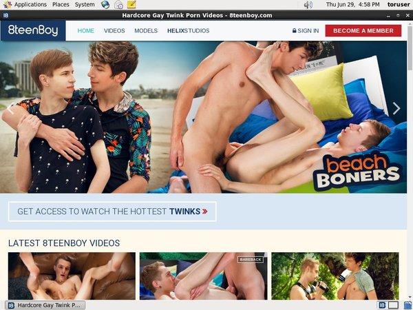 8teenboy.com New Accounts