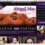 Abigailmac.com For Free