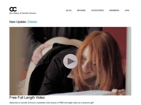 Camillecrimson.com Porn Site