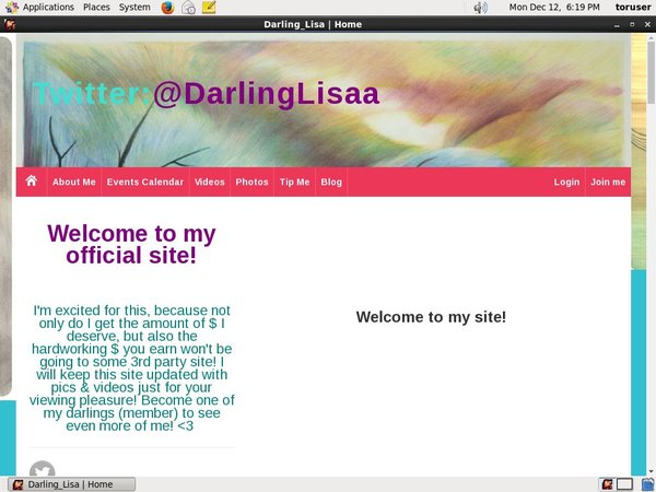 Darling Lisa Acc Free