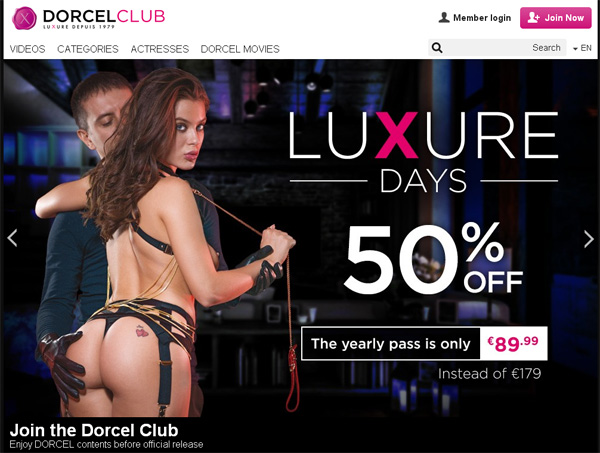 Dorcelclub With Discover Card