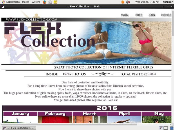 Flex Collection Account Online