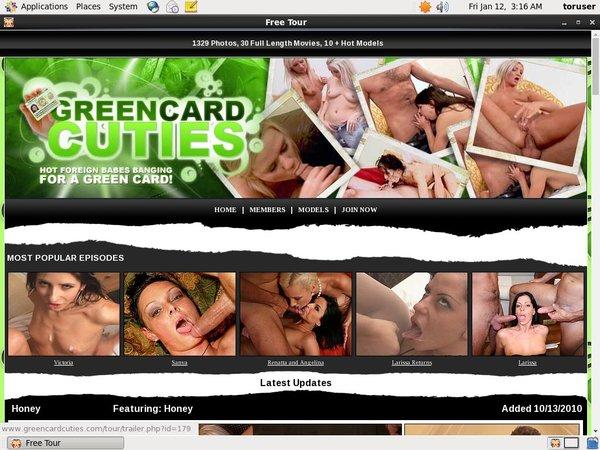 Free Accounts On Green Card Cuties