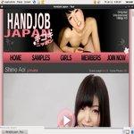 Get Into Handjob Japan