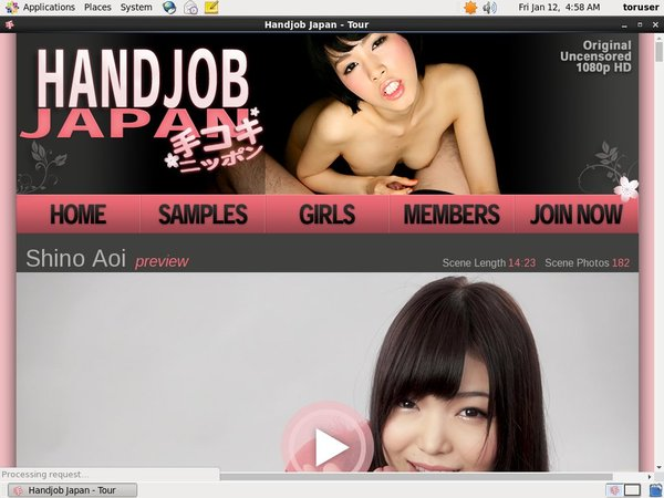 Handjob Japan With Sliiing