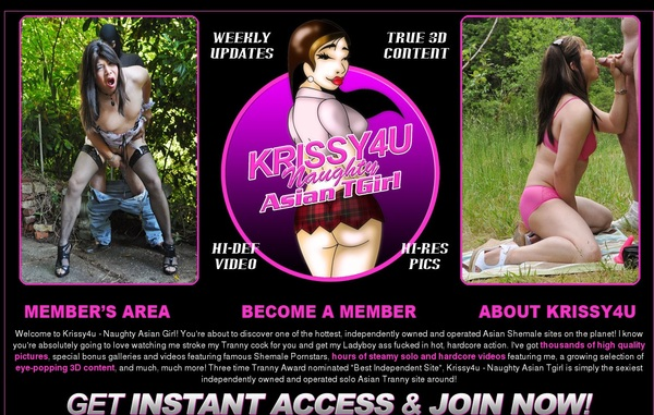 Krissy 4 U Member Account