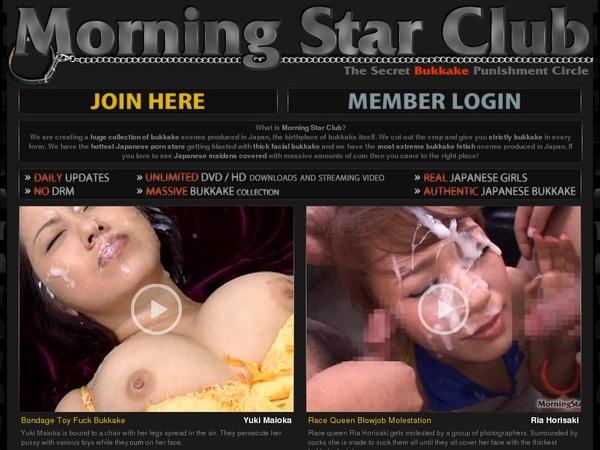 Morning Star Club User Name Password