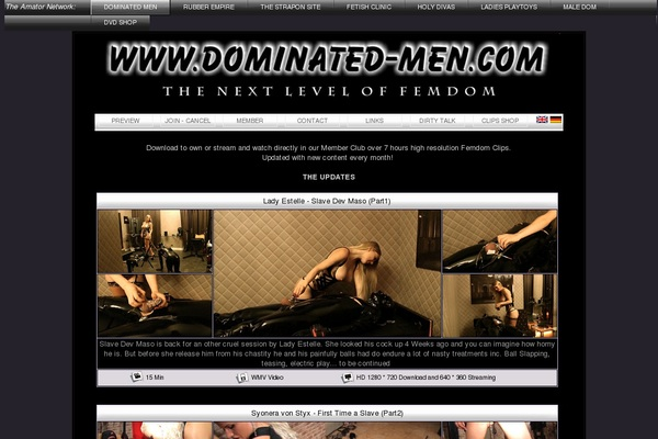 Premium Account For Dominated-men.com