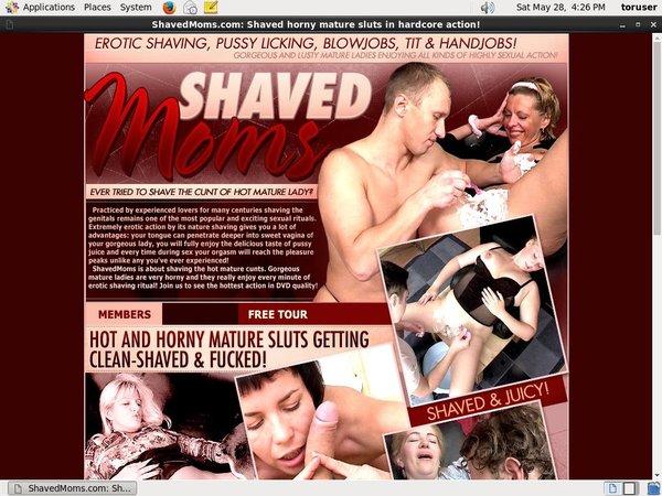 Shavedmoms.com Free Passes