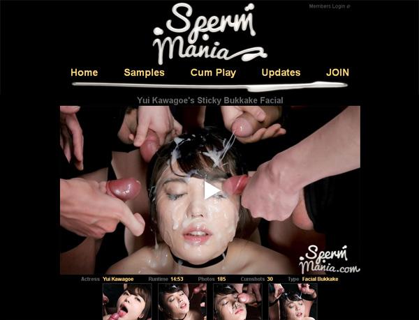 Sperm Mania Free Acounts