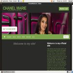Chanel Marie Billing Page