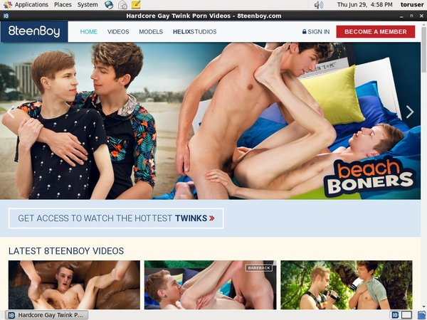 8teenboy.com Discount Monthly