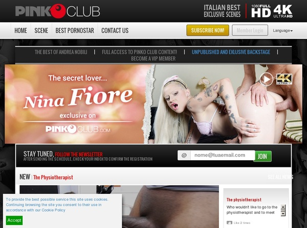 PinkO Club Accounts