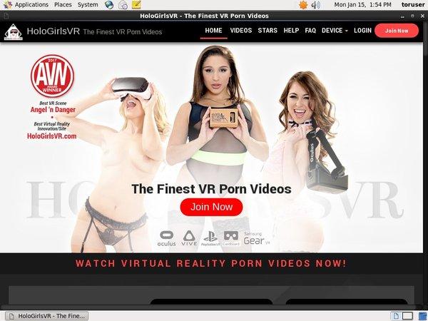 Holo Girls VR Com Paypal
