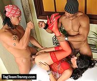 Tag Team Tranny tranny threeway