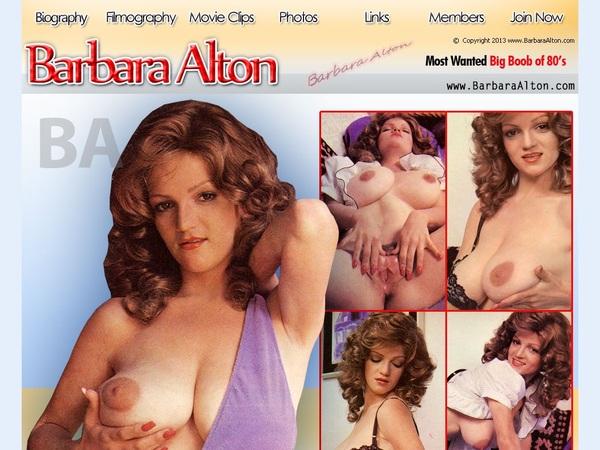 Barbara Alton Pussy