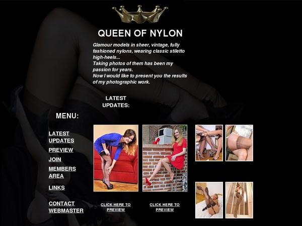 Queen Of Nylon Discount Links