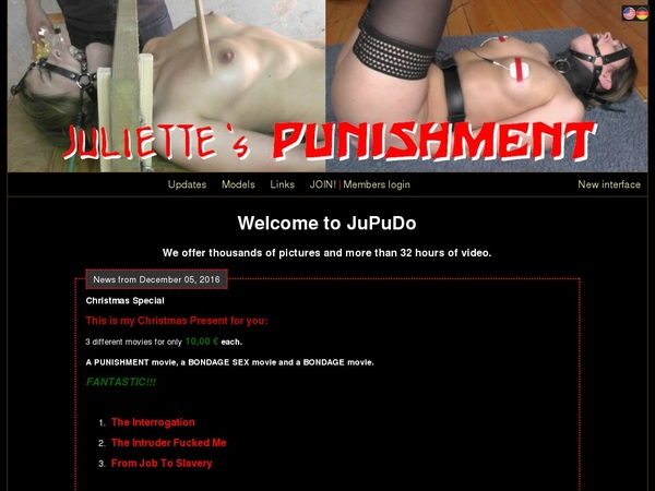Free Password Juliette's Punishment