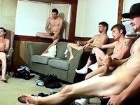 Straight Naked Thugs spunk