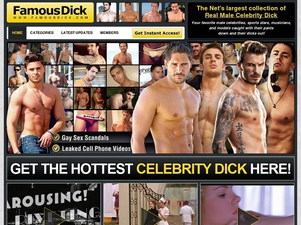 Famous Dick Sign In