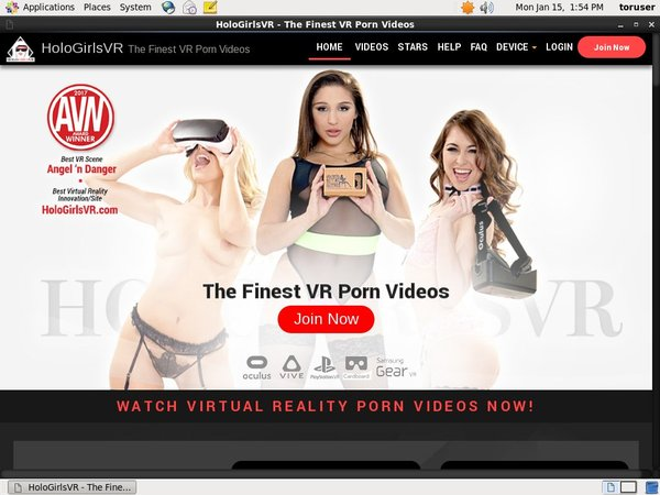 Holo Girls VR Free Account Passwords