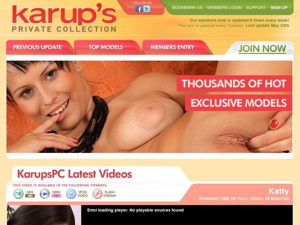 Karupspc.com Accept Pay Pal