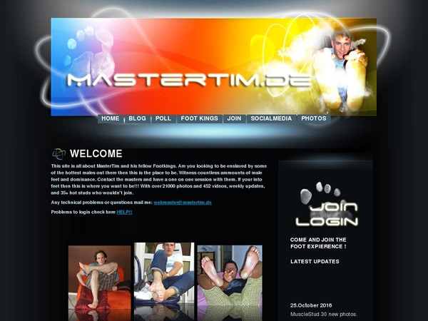 Master Tim Feet