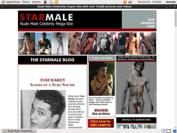Starmale.com Gay