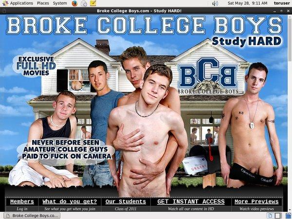 Broke College Boys Password List