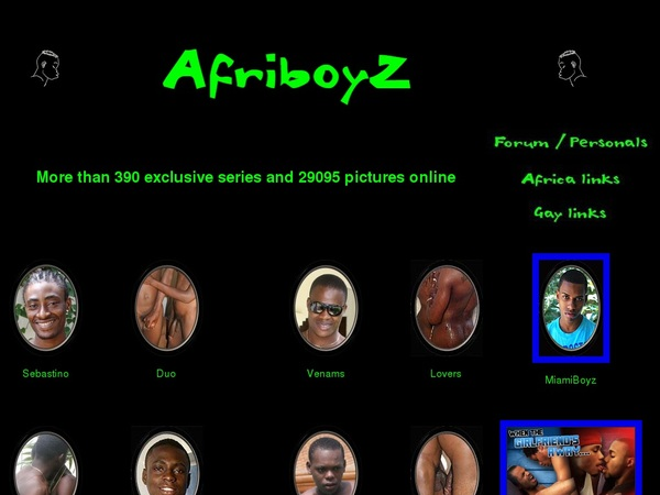 Where To Get Free Afriboyz Account