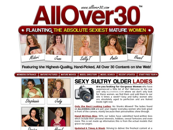 Allover30.com Paypal Signup