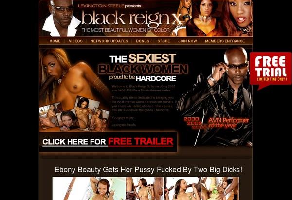 Free Black Reign X Premium Passwords