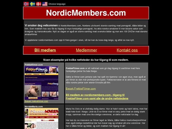 Nordic Members Pago